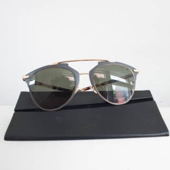 new style best service authorized site Christian Dior reflected sunglasses